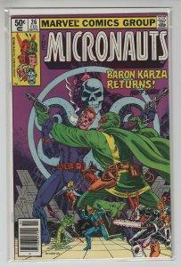 MICRONAUTS (1979 MARVEL) #26 FN+ A67824