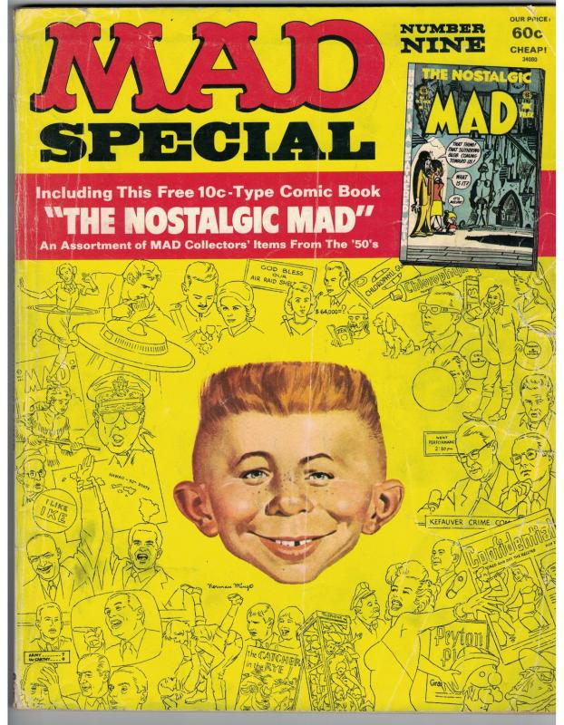 MAD SPECIAL (1972) 9 G CONTAINS NOSTALGIC MAD #1