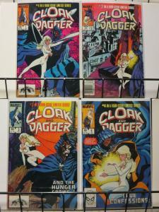 CLOAK & DAGGER (1983) 1-4 MANTLO/LEONARDI