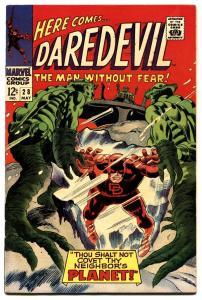 DAREDEVIL #28-MARVEL 12 CENT-SILVER AGE VF