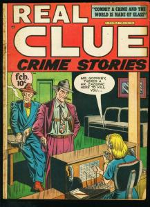 REAL CLUE CRIME STORIES V2 # 12 PRE-CODE 1948 VG