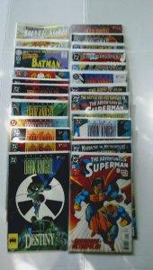 Batman Superman comic book lot DC Comics see more lots B-5/16