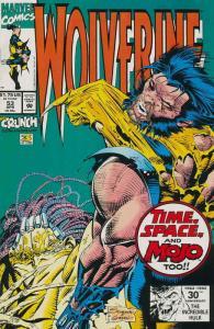 Wolverine #53 VF/NM; Marvel   save on shipping - details inside