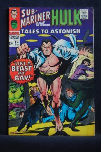 Tales to Astonish #84 Sub-Mariner/ Hulk