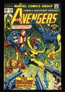 Avengers #144 FN/VF 7.0 1st Hellcat!