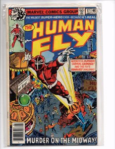 Marvel Comics The Human Fly #17  Ace Intro Buddy Intro Rachel Intro