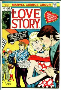 Our Love Story #25 1973-Marvel-romance stories-Don Heck cover & story-VG