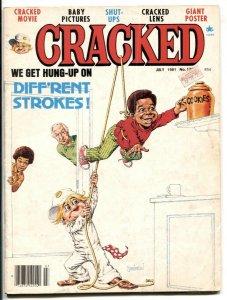 CRACKED Magazine #178 1981-Severin- Diff'rent Strokes VG