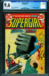 SUPERGIRL #1 CGC 9.6 1972-First issue-DC bronze age 2039575002