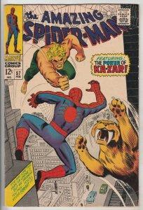 Amazing Spider-Man #57 (Feb-68) VF/NM High-Grade Spider-Man