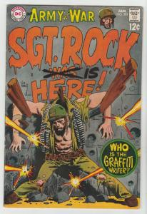 Our Army at War #201 (Jan-69) FN/VF+ High-Grade Easy Company, Sgt. Rock