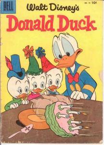 DONALD DUCK 46 (BARKS) GOOD   Mar.-Apr. 1956 COMICS BOOK