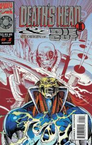 Death's Head II & the Origin of Die-Cut #1 VF; Marvel UK | save on shipping - de