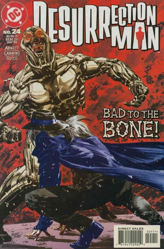 Resurrection Man #24 VF/NM DC - save on shipping - details inside