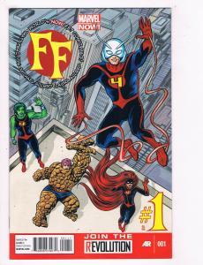FF #1 NM Marvel Comics Comic Book Fantastic Four Ant Man DE27