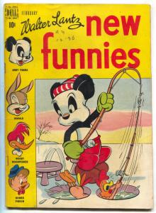 New Funnies #132 1947-Dell-Woody Woodpecker-Andy Panda