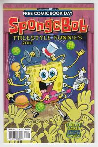 Spongebob Freestyle Funnies Unstamped NM- FCBD 2016