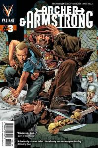 Archer & Armstrong (2012 series) #3, NM (Stock photo)