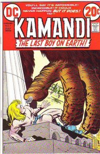 Kamandi the Last Boy on Earth #7 (Jul-73) VF High-Grade Kamandi