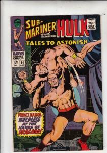 Tales to Astonish #94 (Aug-67) VF High-Grade Incredible Hulk, Namor