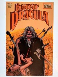 Blood of Dracula (1987) #1 VF. Apple