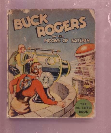 BUCK ROGERS MOONS OF SATURN PHIL NOWLAN #1143 BLB--1934 VG-