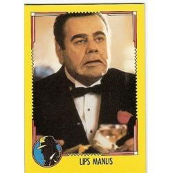 1990 Topps DICK TRACY-LIPS MANLIS #7