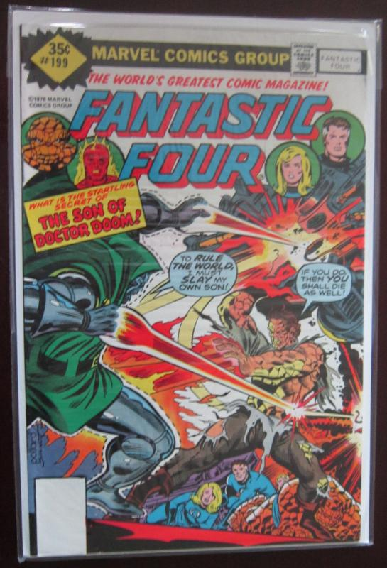 Fantastic Four (1978 1st Series) #199, 8.0
