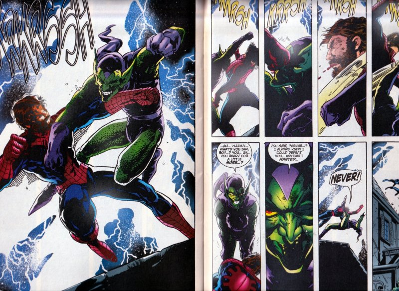 Spider Man - Heir to the Green Goblin !!!