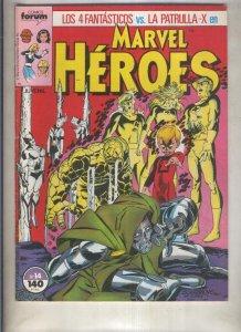Marvel Heroes numero 14: Los 4 Fantasticos vs La Patrulla X  (numerado 3 en t...