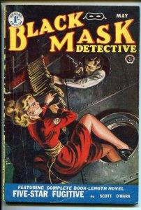 Black Mask Pulp May 1952- British edition- John D MacDonald- Five Star Fugitive