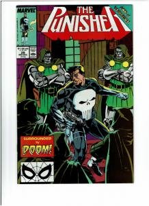 Punisher #28, NM+, Doctor Doom Cover