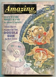 Amazing Stories November 1962- Planet of the Double Sun