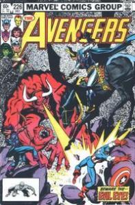 Marvel Comics The Avengers #226 FN+