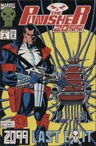 Marvel THE PUNISHER 2099 (1993 Series) #3 VF/NM