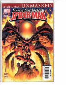 Marvel Comics Friendly Neighborhood Spider-Man #13 Spider-Man Unmasked Mysterio