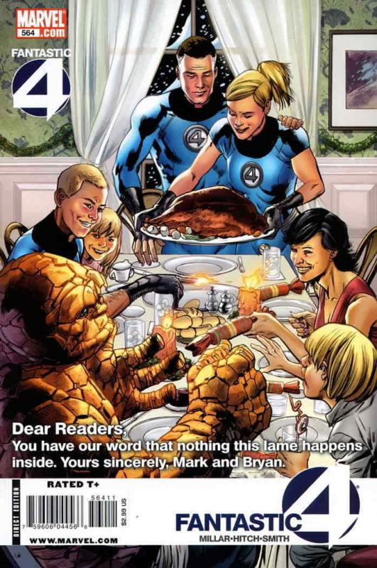 Fantastic Four (Vol. 1) #564 VF/NM; Marvel | save on shipping - details inside