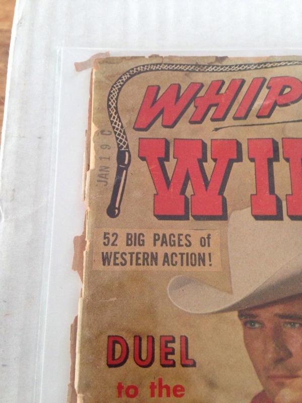 Whip Wilson #9 (#1)  PR/FR