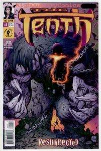 TENTH RESURRECTED #1, NM+, Tony Daniel, Image Comics, 2001,Monster,more in store