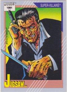 1991 Marvel Universe #66 Jigsaw