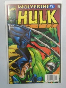 Incredible Hulk #8 Wolverine vs. 7.0 FN VF (1999 2nd Series)