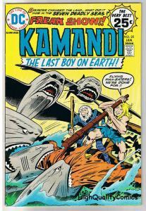 KAMANDI #25, VF+, Jack Kirby, Last Boy on Earth, 1972, more in store
