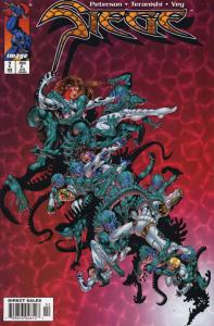 Siege #2 VF/NM; Image   save on shipping - details inside