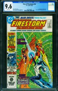 FIRESTORM #24 CGC 9.6 1st Blue Devil DC 2021161003