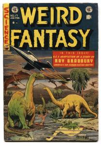 WEIRD FANTASY #17 comic book-FELDSTEIN-E.C. GOLDEN AGE-1952 FN-