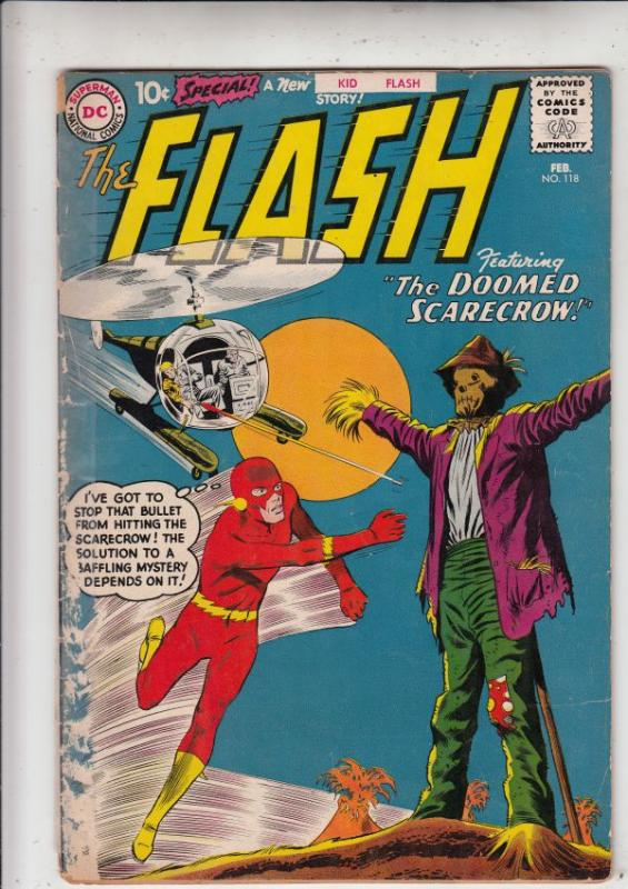 Flash, The #118 (Feb-61) GD+ Affordable-Grade Flash