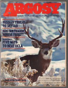 Argosy 11/1973-super cops-Skylab-UCLA basketball-pulp fiction-FN