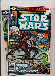 Marvel  LOT of 2-STAR WARS#28-29 Cavern of the Crawling Death! F/VF(PF308)