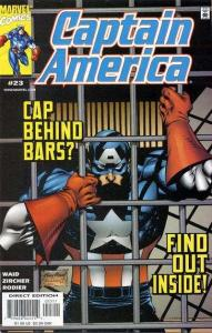 Captain America (1998 series) #23, NM + (Stock photo)