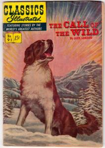 Classics Illustrated #91 (Jan-52) VG Affordable-Grade